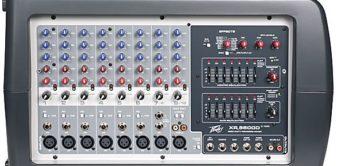 Test: Peavey, XR 8600D, Powered Mixer