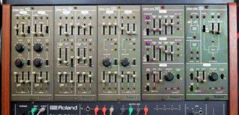 Blue Box: Roland System-100M, Modularsynthesizer
