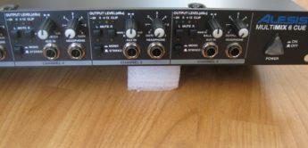 Test: Alesis, Multimix 6 Cue, Kopfhörerverstärker
