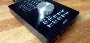 Test: Motu Track16, Firwewire und USB 2.0 Desktop Audio-Interface