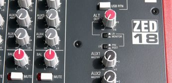 Test: Allen & Heath, ZED-18, Mischpult