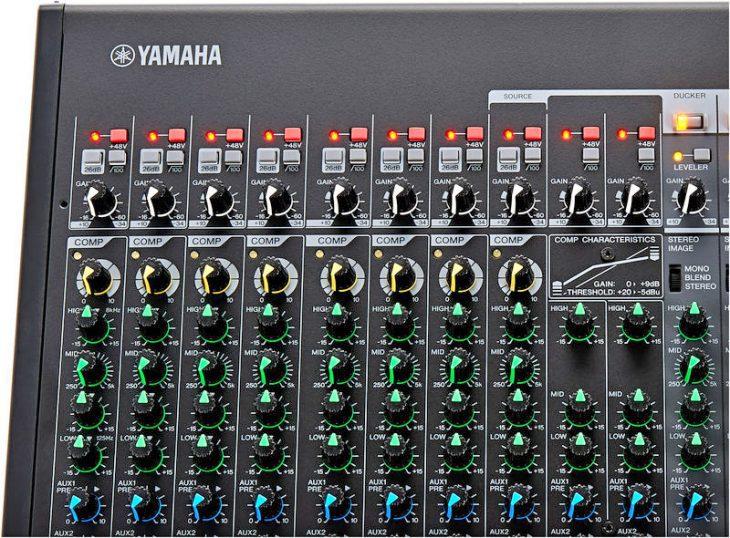 Yamaha MGP16X, Analogmischpult