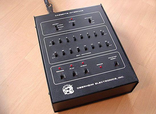 Cassetteninterface für den Oberheim OB-1