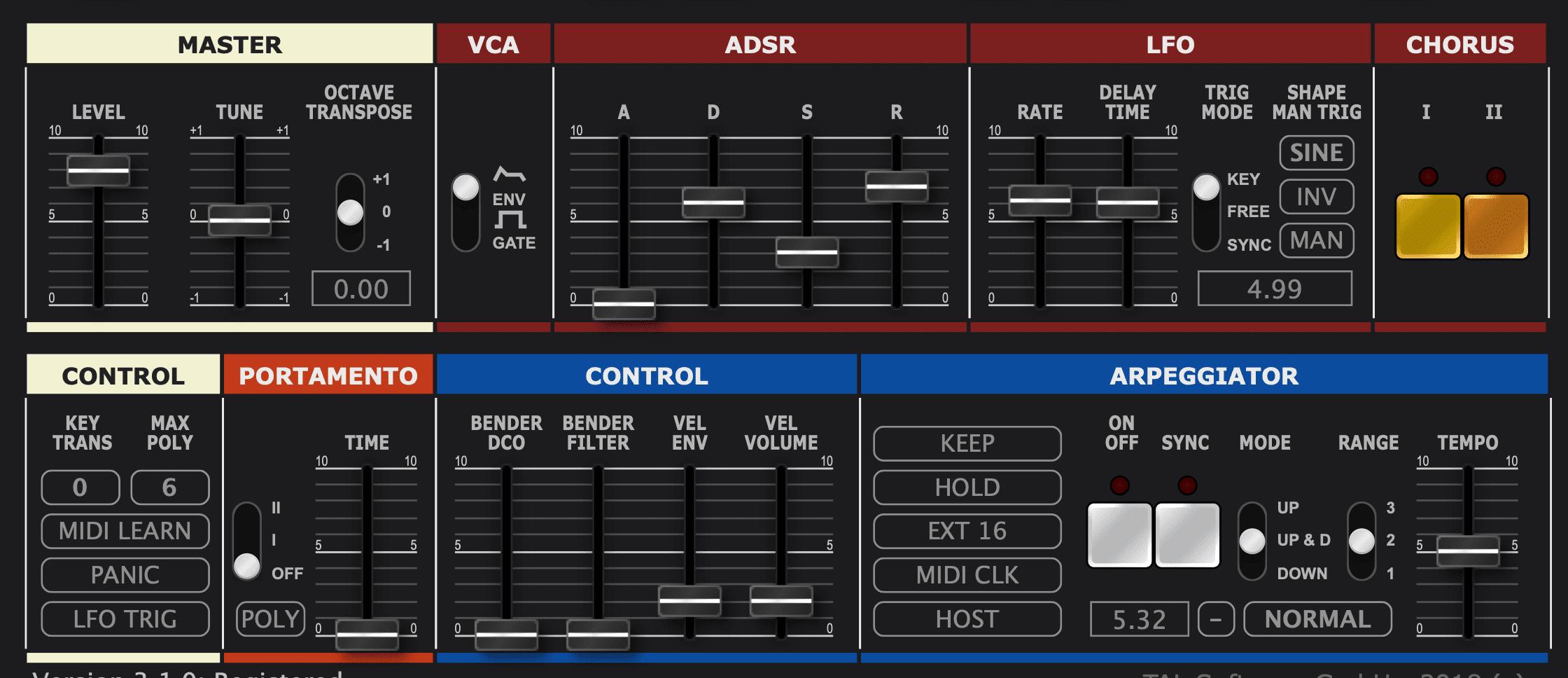Vergleichstest: Roland Juno-60 vs  TAL U-No-LX V2 Plugin - AMAZONA de