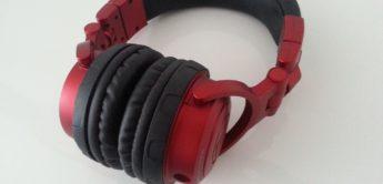 Test: Audio Technica, ATH Pro500MKII RD, DJ-Kopfhörer