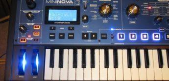 Test: Novation, Mininova, Synthesizer
