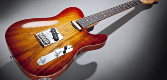 Test: Fender, Select Carved Koa Telecaster, E-Gitarre