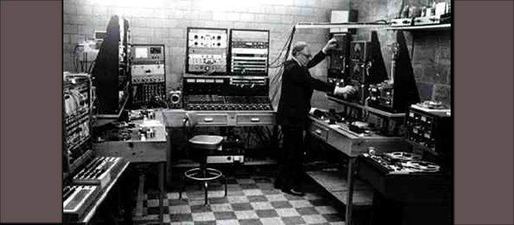 Geschichte der elektronischen Musik: 1900-1970