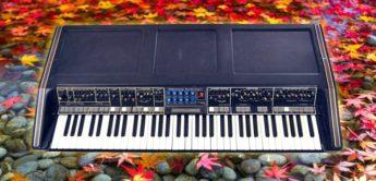 Blue Box: Moog Polymoog, Analogsynthesizer