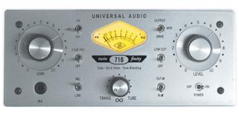 Test: Universal Audio, 710 Twin-Finity, Vorverstärker