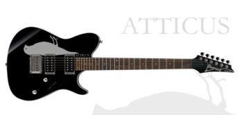 Test: Ibanez FR-Atticus-BK, E-Gitarre