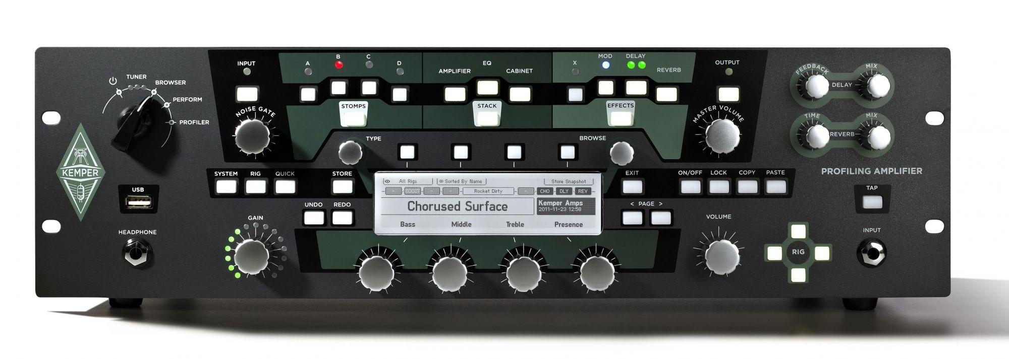 Top News Kemper Profiler Rack Amp Profiler Powerhead