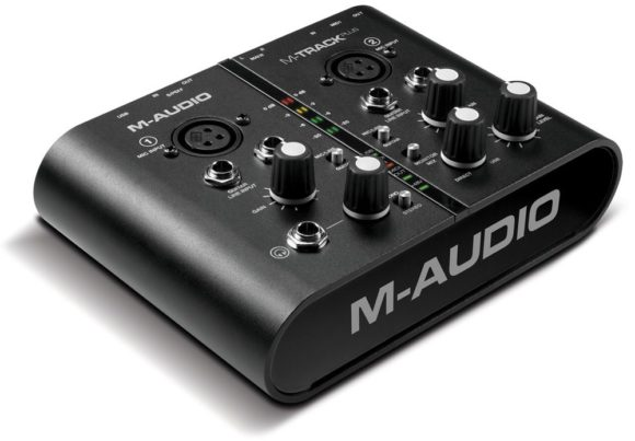 M-Track Plus - Interface von M-Audio