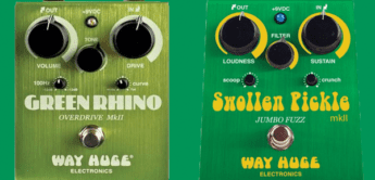 Test: Way Huge, Green Rhino & Swollen Pickle, Gitarren-Effektgeräte