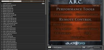 Test: Audiobro, LA Scoring Strings 2, String-Library