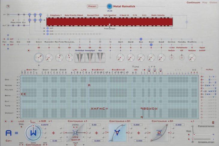 Haken Audio Continuum Fingerboard