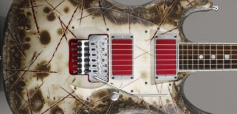 Test: ESP RZK-I Richard Z. Kruspe Burnt, E-Gitarre