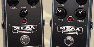 Double-Feature: Mesa/Boogie Flux Drive & Grid Slammer Overdrive-Pedale