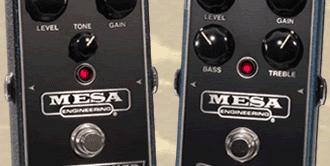 Double-Feature: Mesa/Boogie Flux Drive & Grid Slammer Overdrive-Pedale