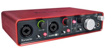 Test: Focusrite, Scarlett 2i4, USB-Audiointerface