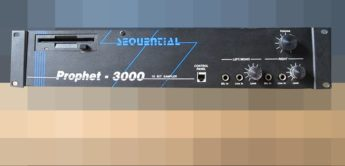 Blue Box: Sequential Prophet 3000, Stereo-Sampler mit Analogfiltern