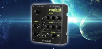 Test: Waldorf Rocket, monophoner Synthesizer