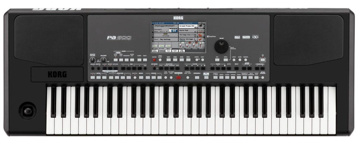 korg pa 600 entertainer test keyboard