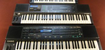 Blue Box: Casio HT-6000, Analog Synthesizer