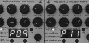 Top News: Jomox, ModBase 09, Mod.Brane 11, Drum-Module