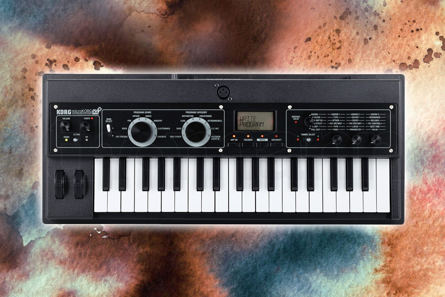 test korg microkorg xl synthesizer. Black Bedroom Furniture Sets. Home Design Ideas