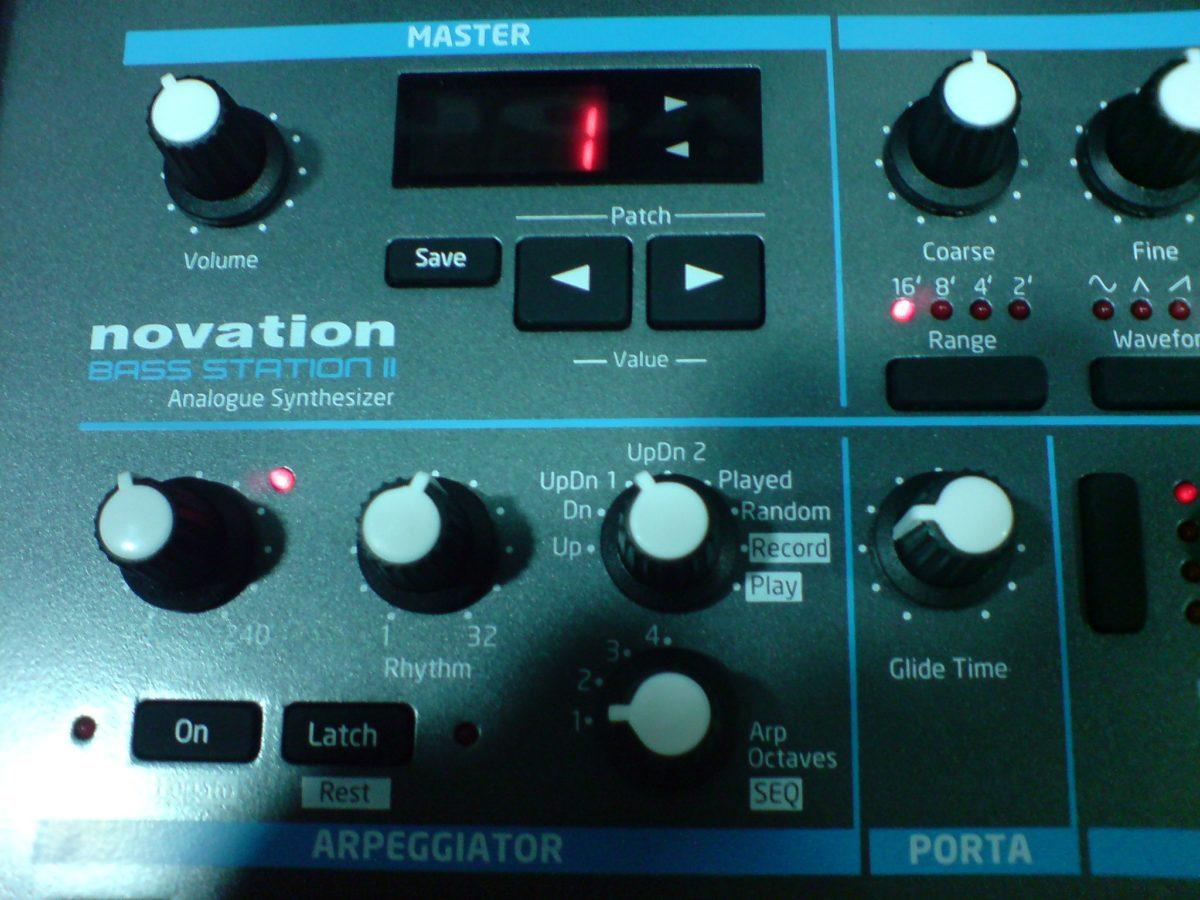 messe13_Novation-BassStation2-Arpeggiator