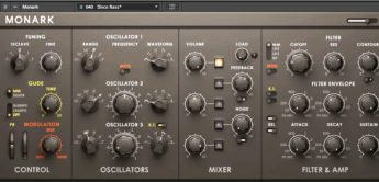Test: Native Instruments MONARK Minimoog Clone, Reaktor Instrument