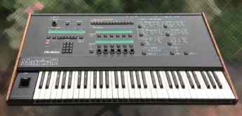 Blue Box: Oberheim Matrix-12 polyphoner Analogsynthesizer