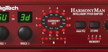 Test: DigiTech, HarmonyMan, Gitarren Effektgerät