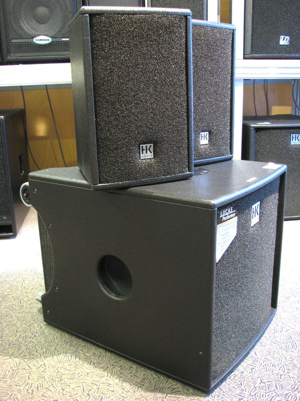 test hk audio lucas performer kompakt pa. Black Bedroom Furniture Sets. Home Design Ideas