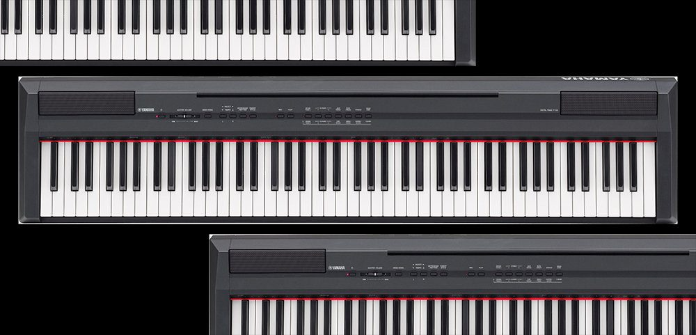 test yamaha p 105 digitalpiano. Black Bedroom Furniture Sets. Home Design Ideas