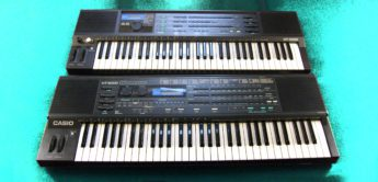 Blue Box: Casio HT-6000, HT-3000 Analog Synthesizer