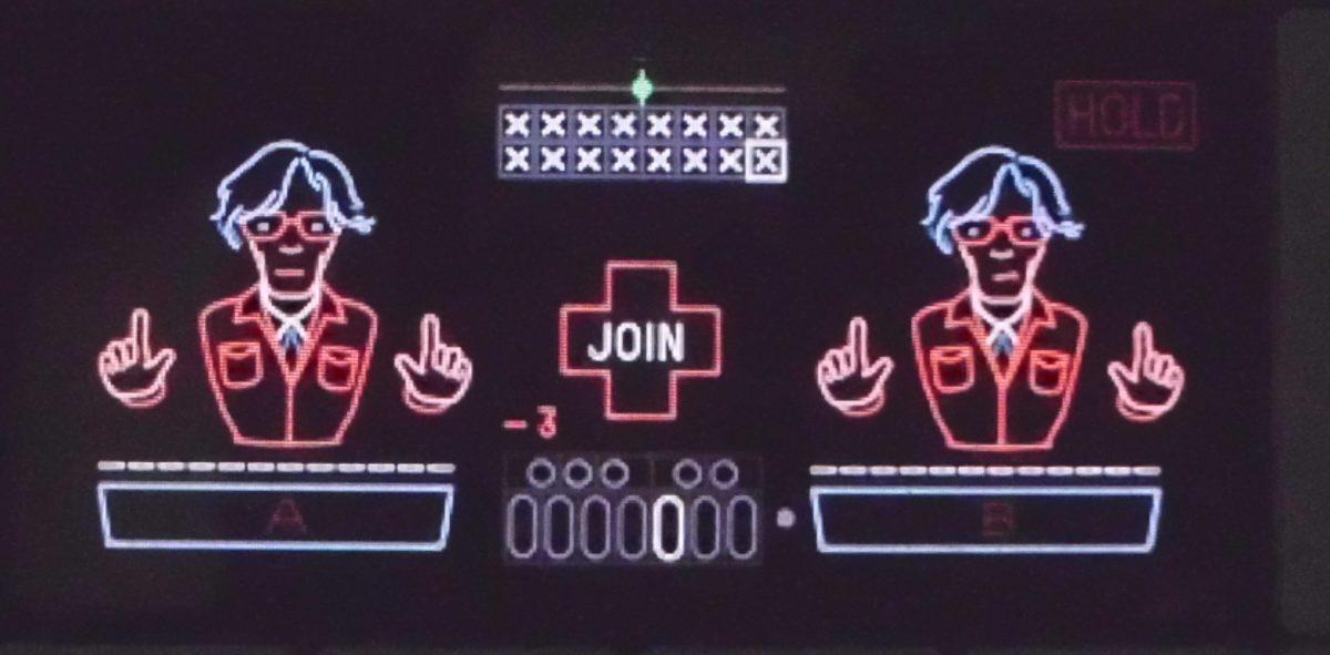 Im Finger-Modus kann man zwischen 14 Sequenzen hin- und herschalten
