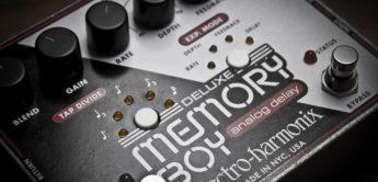 Test: Electro Harmonix Deluxe Memory Boy