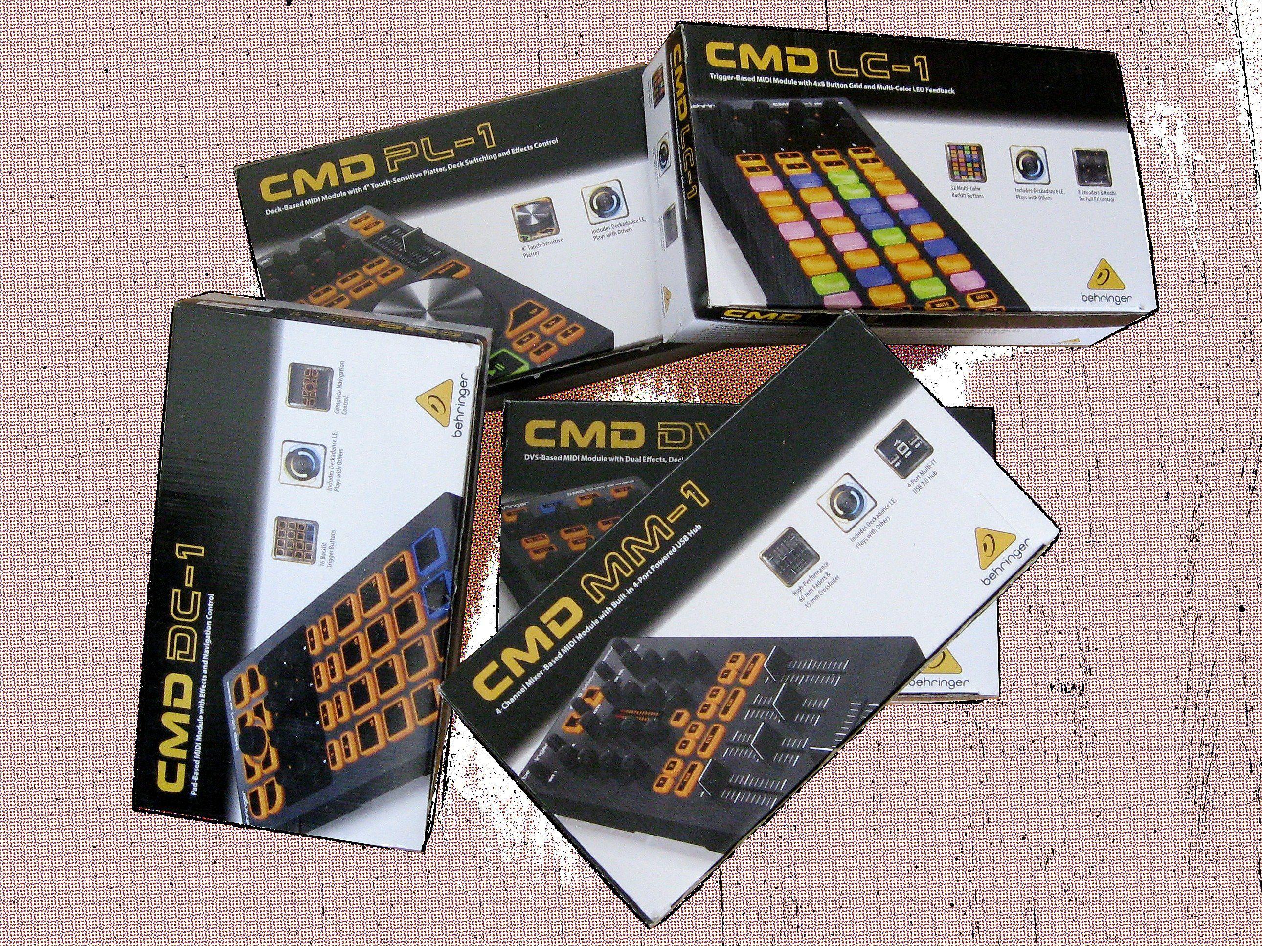 Test Behringer Cmd Mm 1 Cmd Dc 1 Cmd Dv 1 Usb Midi