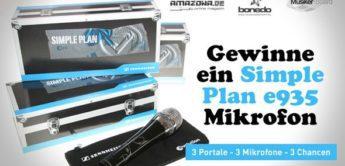 Gewinnspiel: Sennheiser Simple Plan Gesangsmikrofon