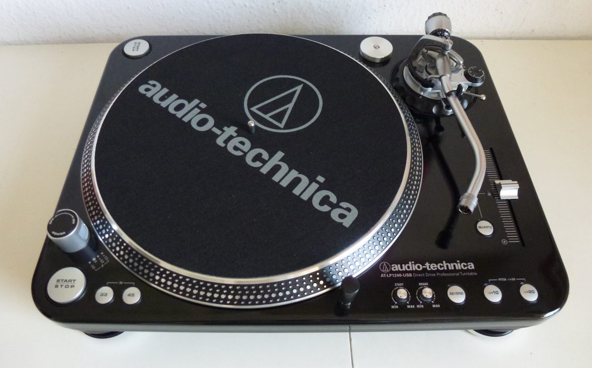 Der Audio Technica LP-1240-USB