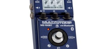 Test: ZOOM MS-100BT, Gitarren Multieffektgerät