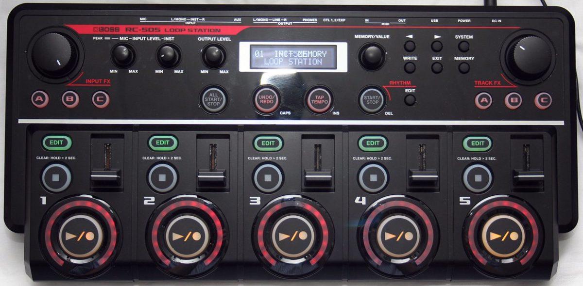rc505-einschalten