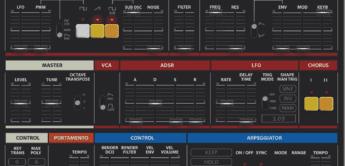 Hervorragende Roland Juno-60 Emulation