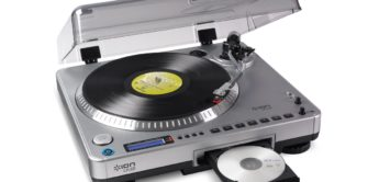 Test: Ion Audio LP2CD, Turntable/CD-Player mit Recorder