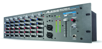 Test: Alesis MultiMix 10 Wireless, Rackmischer