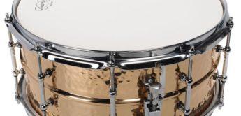 Test: Ludwig LB552KT, Bronze Snaredrum