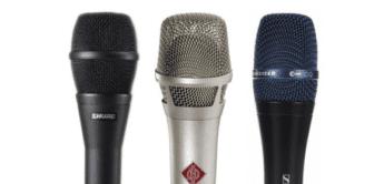 Vergleichstest: Neumann KMS 105, Sennheiser e965, Shure KSM9, Kondensatormikrofone