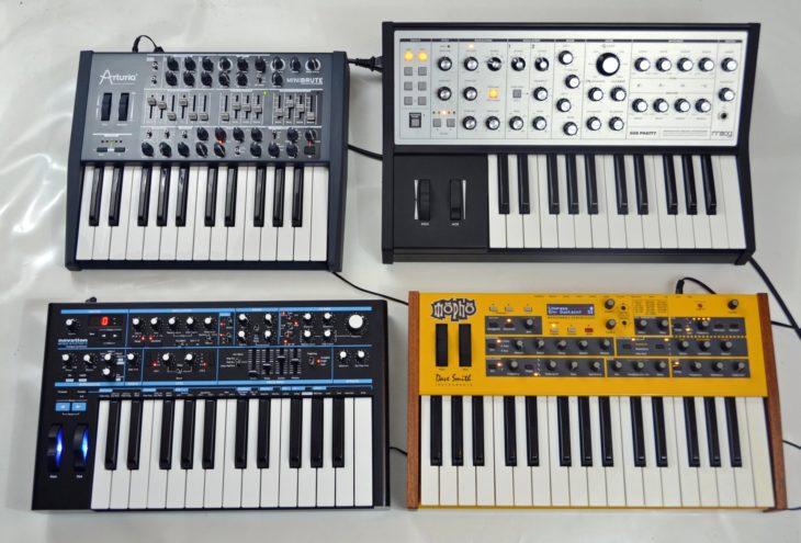 Vergleichstest Analogsynthesizer Korg, Moog, DSI, Novation und Moog